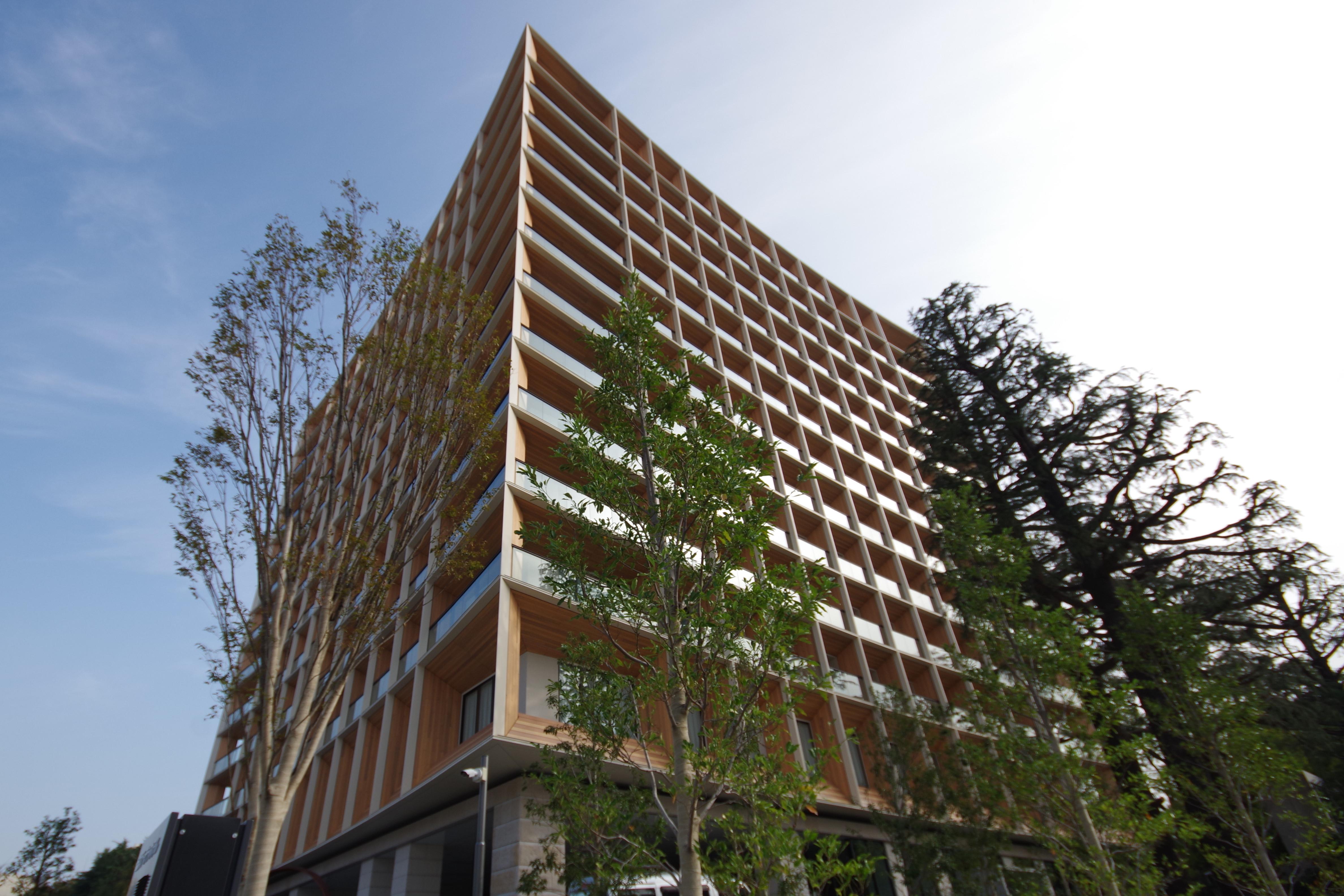 三井ガーデンホテル神宮外苑の杜 外観画像